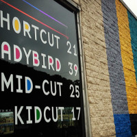 Birds Barbershop Sign
