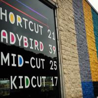 Birds Barbershop Sign