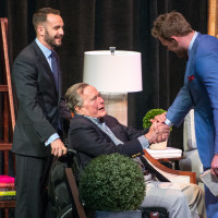 Celebration of Reading 4/16, Evan Sisely, George Bush, J.J. Watt