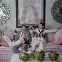 Gloria Vanderbilt and family Nothing Left Unsaid