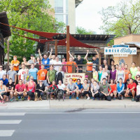 Austin Beer Run Club group photo