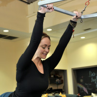 Houston, Washington Ave Pilates, student