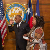Sylvester Turner sworn in as mayor of Houston