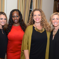 Houston, Dress for Success A Night Out Event, November 2015, Laurel Midani, Amanda Ard, Paige Gilbeaux, Suzanne Rivera