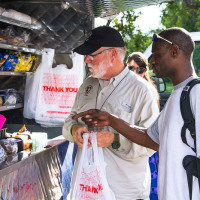 Alan Graham Movbile Loaves & Fishes truck Austin homeless nonprofit