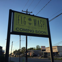 Fig & Wasp Test Kitchen sign