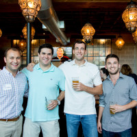 Houston, Casa de Esperanza YP Happy Hour, September 2015, Duncan Balcom, Mike Delaney, Todd Fineman, Patrick Hawkey, Chris Kruse