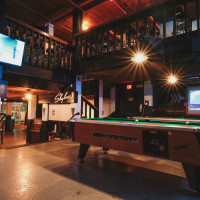 Midway Field House Austin sports bar East Riverside interior TV 2015