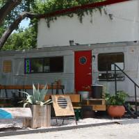 Flitch Coffee trailer Austin