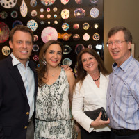 News, Shelby, Fine Art Fair Kick-off, Sept. 2015, Arturo Creixell, Paola Creixell, Deborah Colton, Bill Colton