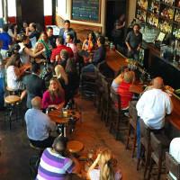 Blue Box San Antonio restaurant bar interior