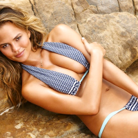 Houston, Chrissy Teigen, July 2015, Sports Illustrated 2015