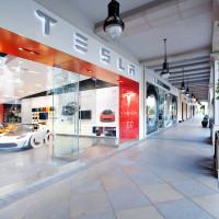 Tesla store at Santana Row San Jose California