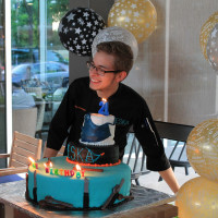 News, Shelby, Omar Pereny's 21st birthday, July 2015, Omar Pereney