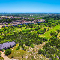 Cross Mountain San Antonio suburb 78255 aerial view
