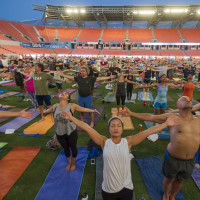 YogaOne Studios presents Yoga on the Pitch