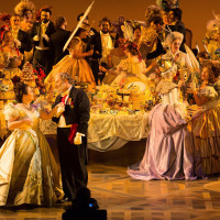 Houston Grand Opera La Traviata, Albina Shagimuratova, Thomas Glass, HGO Chorus