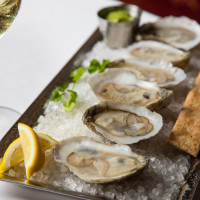 Cafe Annie Prime Room oysters