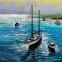 """Kerry Hallam: """"Master Works and Original Works on Canvas"""""""