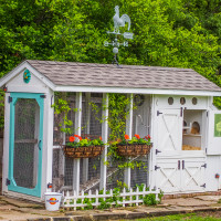 Moss Haven Farm presents A Peep at the Coops Urban Chicken Coops Tour and Country Market