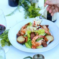 The Cookhouse SA shrimp salad