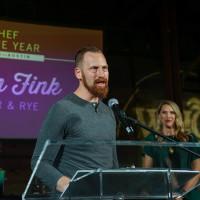 CultureMap Austin 2018 Tastemaker Awards at Fair Market Austin Chef of the Year Kevin Fink