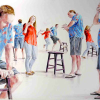 """Lillian Warren: """"They Woke Up and Started Dreaming"""" opening reception"""
