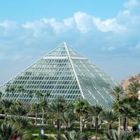 News_Moody Gardens_Rainforest Pyramid_reopening_May 2011