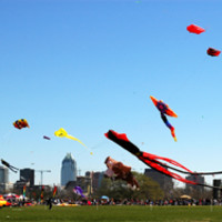 Austin Photo: Places_Outdoors_Zilker Park_Kite Festival
