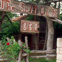 Austin Photo: places_food_salt lick driftwood_exterior