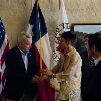 Austin Photo Set: News_Nancy_Tapestry tours China_june 2011_Mayor and Gray