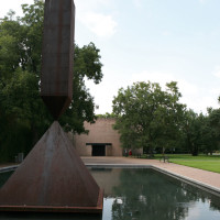 Places-Unique-Rothko Chapel-sculpture-exterior-1