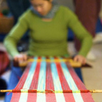 News_Janice Schindeler_The Community Cloth_loom