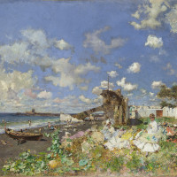 SMU's Meadows Museum presents At the Beach: Mariano Fortuny y Marsal and William Merritt Chase