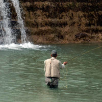 Fishing on the Blanco River State Park