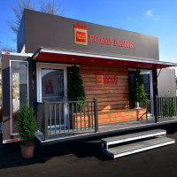 Wells Fargo Holiday Mobile Pop-Up Food Bank