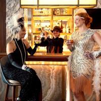 1920's speakeasy bar