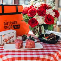 B&B Butchers Valentine's meal