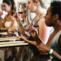 Pedernales Cellars winery wine tasting women