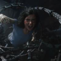 Rosa Salazar in Alita: Battle Angel