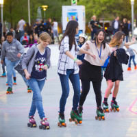 The Rink — Rolling at Discovery Green