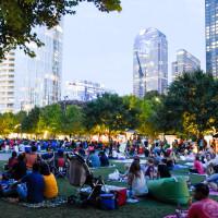 Movie at Klyde Warren Park