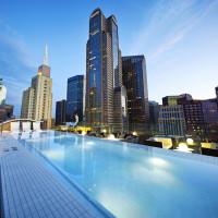 Statler Hotel Rooftop Pool