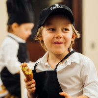 Fletch Launch Party & Corn Dog Giveaway