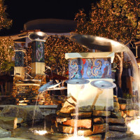 Shops at La Cantera fountain