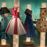 """""""Paper Couture"""" opening day"""