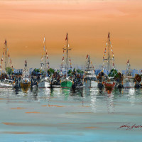 Martin Lawrence Galleries presents Kerry Hallam: Nautical Paintings