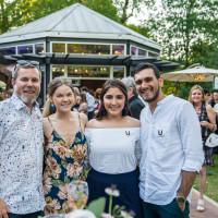 Umlauf Garden Party 2019 Jason Rogers Danielle Harkness Carly Castillo Taylor Bowman