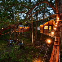 Cypress Valley Canopy Tours treehouses