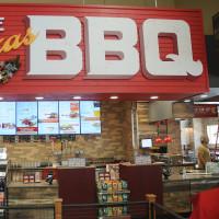 True Texas BBQ sign